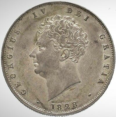 1828 George IV Halfcrown, High Grade