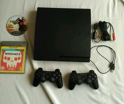 Consola PS3 slim, Play Station 3, 160gb, con extras.