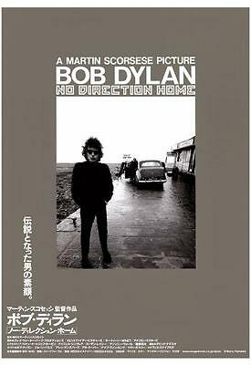 Bob Dylan POSTER - No Direction Home - LARGE Scorsese  Japanese **MUST SEE**