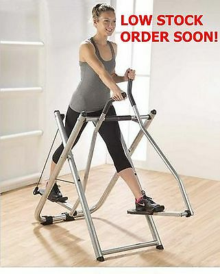 Air Walker Foldable Tones Legs Buttocks Abs Core Upper Body Easy Storage Cardio