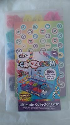 Cra-Z-Loom Ultimate Collector Case / Boîte Collector 1800 Loom Bands Neuf