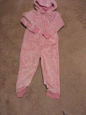 Super Soft Marks And Spencers Girls Onesie Aged 6-7 Yrs