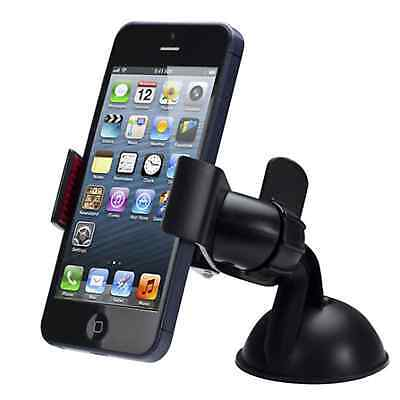 CELL PHONE HOLDER CAR MOUNT DASH 360° ROTATING SUCTION FOR iPHONE SAMSUNG GPS