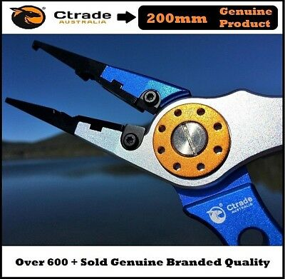Aluminium Fishing Pliers Hook Removal ! Line Cutting Mono Braid ! Fish Grip