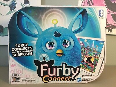 Furby Connect Teal With Bluetooth NiSB 2016 Hasbro