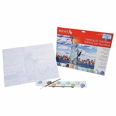 Reeves Paint by Numbers Statue of Liberty Large