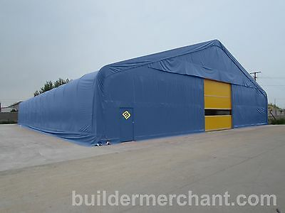 Steel Frame Temporary Building Industrial Shelter Portable Commercial Warehouse