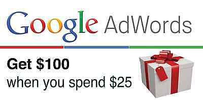 $100 USD Google Adwords Promo Code 2017, USA or Canada. $100 Advertising Credit!