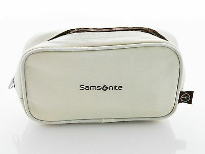 Lufthansa Business Class Amenity Kit Samsonite, cream colored, new, still sealed