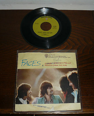 """Faces (Small Faces) Cindy Incidentally 7"""" Italy Ps '73Skewiff ( Mend The Fuse )"""