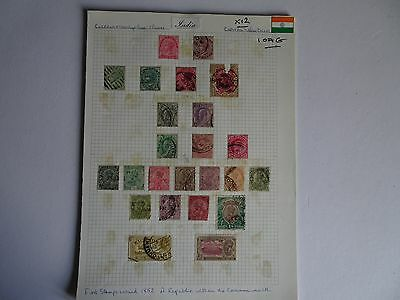 Selection of India Issues on 12 x Album Pages - Useful ?