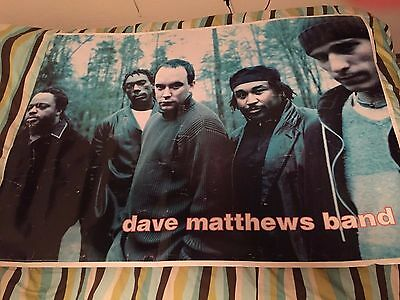 (3) Vintage Dave Matthews Band Posters: 1 Oversize 54.75x40 and 2 Standard 24x36