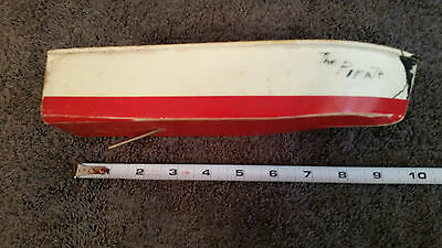 Vintage Boat Wooden Model Toy Antique Wood Japan was Battery Operated diarama