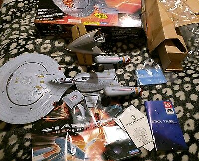"STNG GENERATIONS ""Starship Enterprise NCC-1701-D-"" PLAYMATES 1993 REF 6171 BOXED"