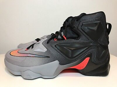 Nike LeBron XIII 13 Basketball Trainers Shoes UK 7.5 EUR 42 807219 060 Grey