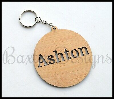 Personalised Bag Tag Key Chain Adult Children Kid Gift Present