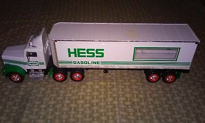 Hess Gasoline Toy Truck 1992 Lights / Sound Works No Box