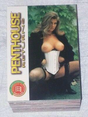 Penthouse Returns Series One 90 Card Trading Set