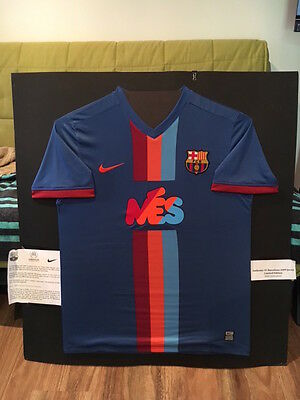 FC Barcelona Limited Edition Authentic signed Jersey