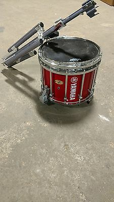 Yamaha Marching Snare drum 9300 Series 14x12 Red with Chrome Hardware