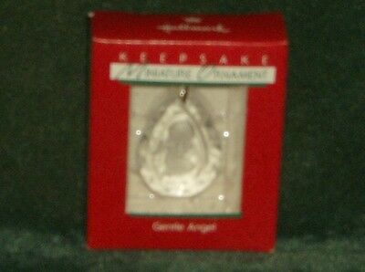 Hallmark 1988 Gentle Angel - Miniature Ornament - NEW