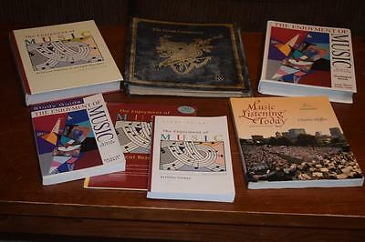 Lot of Music Books Education, Composers, many items