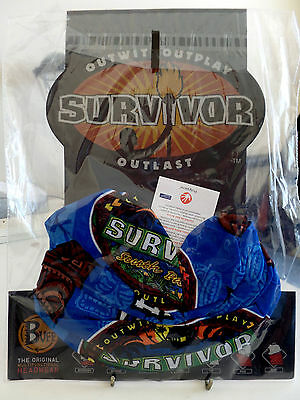 SURVIVOR BUFFS South PACIFIC Blue UPOLU TRIBE BUFF BNWT MINT Condition SEALED