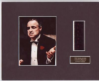 The Godfather Film Cell Display Limited Edition  Extremely Rare