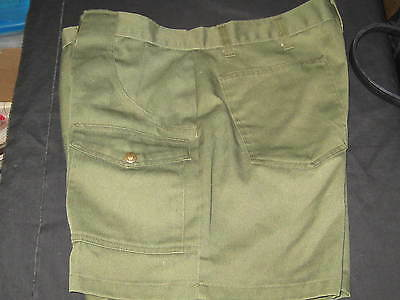 Boy Scout Leader Shorts, Waist 38, great for camping trips      xx04