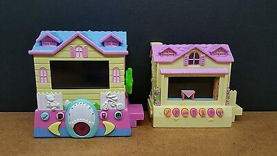 (Works) Lot of (2) Pixel Chix Interactive Electronic House