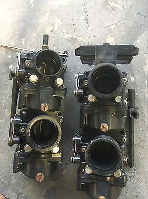 90hp115hp johnson evinrude outboard carburetor carby V4 60 Degree #433690