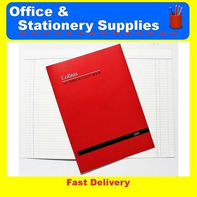 Collins A24 Series Account Book Day 10201