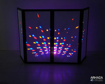 Dj screen / facade by Armada - Stylish, Foldable Frontboard - Made in Oz