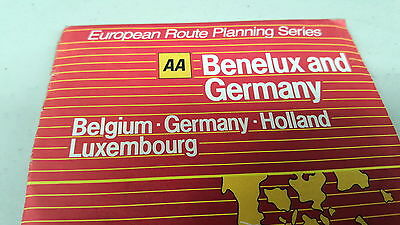 AA MAP  of BENELUX and GERMANY