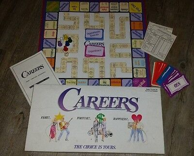 Vintage Careers board game. Tiger 1992. Great condition. 100% complete
