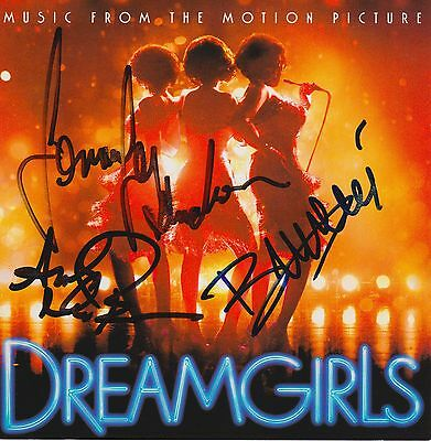 Dreamgirls signed movie soundtrack cd beyonce jennifer hudson anika noni rose