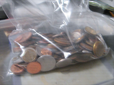 World Coin Lot -  2lb of coins