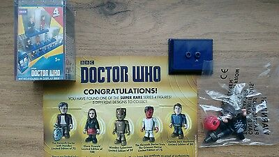 Character Building Doctor Who Series 4 Super Rare C Clara Oswald 1 of only 100!