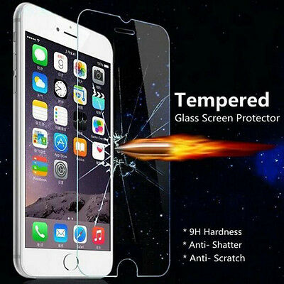 100% Genuine Gorilla Tempered Glass Film Screen Protector For iphone Model