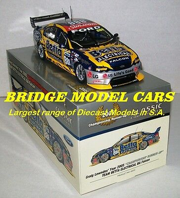 2005 #888 Lowndes BA Falcon Championship runner up - 1:18 Classic Carlectables