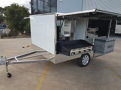 Complete Mobile Coffee / Bbq Trailer - Ready To Work - Finance Available
