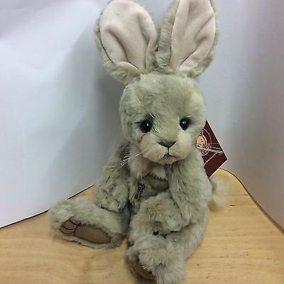 Charlie Bears Bianca 14 Inch Plush Jointed Rabbit New For 2016