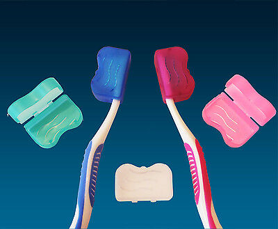 Toothbrush Cover for Head x 5 Colours ~ Electric & Manual Toothbrush Travel Case