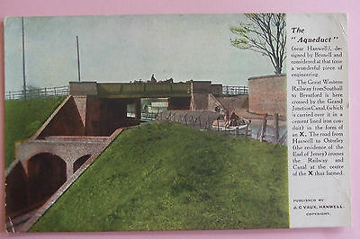 Postcard c.1905 THE AQUEDUCT Nr HANWELL MIDDLESEX LONDON