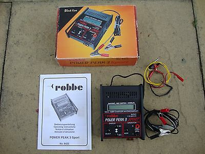 Vintage Power Peak 3 Sport Battery Charger With Box And Instructions