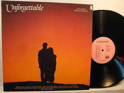 LP- Various: Unforgettable - 18 Classic Songs Of Love - 1988 UK ( mint )