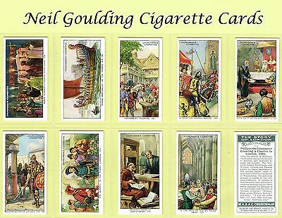 Churchman - The Story of London 1934 #1 to #50 Cigarette Cards