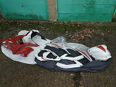 08-16 Yamaha r6 13s panel/fairing set with tank