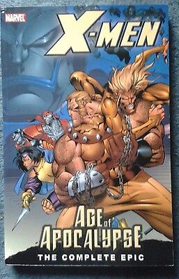 Marvel Graphic Novels - X-Men - Age Of Apocalypse - The Complete Epic - Vol 1