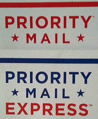 Upgrade Shipping To Priority or Express (Flat Rate Envelope) 1-3 Day USA only
